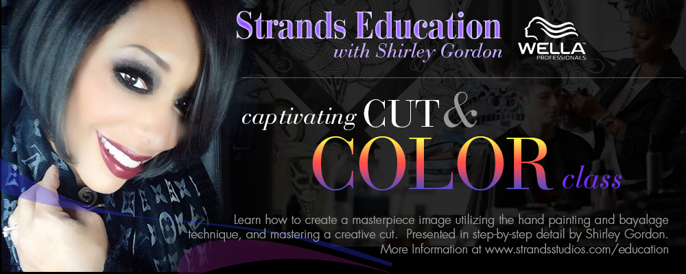 Captivating Cut & Color Hairstyling Class by Shirley Gordon, Wella Professional