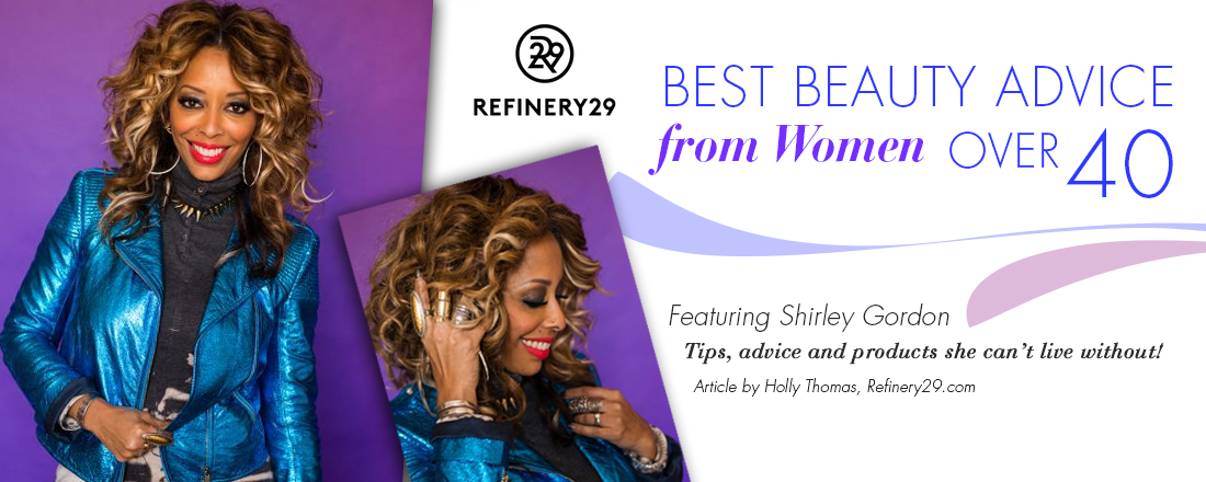 Best Beauty Advice From Women Over 40: Shirley Gordon Refinery 29