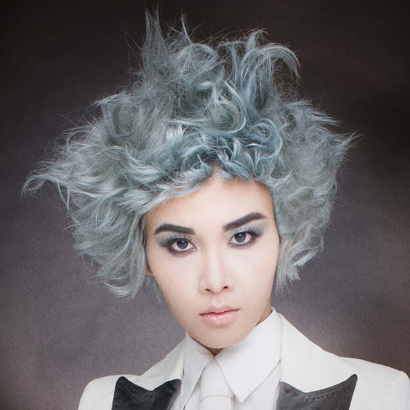 ShirleyG: The Wig Collection-Blue Ice