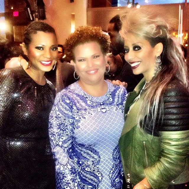 Shirley Gordon with Debra Lee at Black Girls Rock Awards 2013